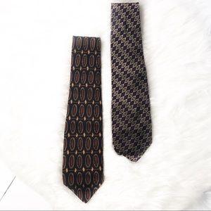 Robert Talbot Two Hand Sewn Silk Men's Ties 460